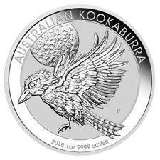 2018-P Australia 1 oz. Silver Kookaburra $1 Coin BU (Uncirculated) SKU49052