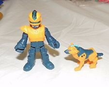 New Imaginext Blind Bag Series 8 Robocop Robot Cop Police Officer Dog Blind Bag