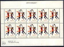 Nederland 2019  Volleybal   vel van 10     postfris/mnh