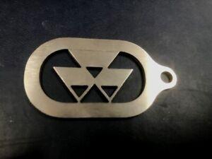 Massey Ferguson Stainless Steel Keyring, 300,600,6000,8000,35,135,165,185,390