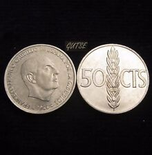 *GUTSE* FRANCO, 50 CÉNTIMOS 1966*19-71, SIN CIRCULAR
