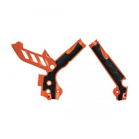 Acerbis Frame Guards KTM SX SXF 125/250/350/450/500 11-15 EXC EXC-F 12-15 Orange