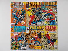6x Spider-Man, The Arachnis Project - Vol. 1 Nr. 1 - 6. Marvel, US Comic / Z. 1