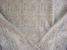 9-5/8Y Kravet 35704 Baltic Blue Cream Textured Chenille Strie Upholstery Fabric