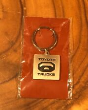 New Toyota Trucks Logo Metal Key Chain Keychain Keyring NIP Square 4x4 You Gotta