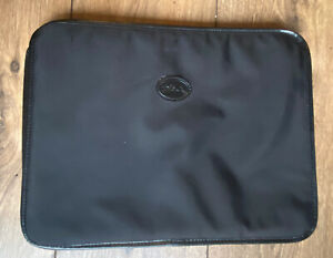 "Longchamp Lap Top 13 "" Black Insert Organiser Divider For Larger Pliage Bags"