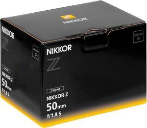 Nikon NIKKOR Z 50mm f/1.8 S Lens. 2 Years Warranty