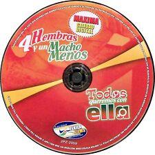 4 Hembras y un Macho Menos / Todos queremos con ella (DVD, Tekila) 2 Peliculas