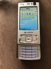 Nokia N95 Silver Slide Phone Vodaphone. Tested And Working.