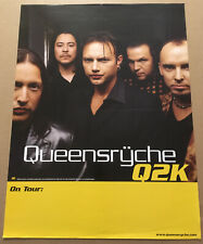 Geoff tate Queensryche Rare 2006 Tour Promo Poster of Q2K Cd 18x24 Never Display