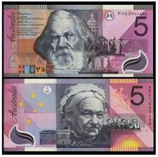 Australia $5 Polymer 2001 Commemorative (UNC) 澳大利亚2001年版1901-2001联邦100周年纪念塑料钞5澳元