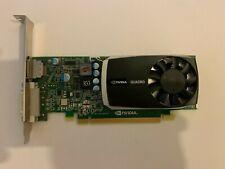 Nvidia Quadro 600 1GB GDDR3 PCI-e x16 2.0 DVI Display Port Full Height GFX