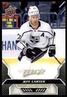 2020-21 UD MVP Base #153 Jeff Carter - Los Angeles Kings