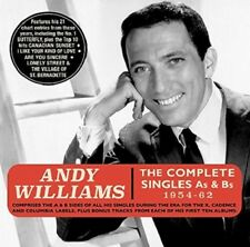 ANDY WILLIAMS - THE COMPLETE SINGLES COLLECTION AS & BS 1954-62 2 CD NEUF