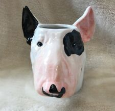 Mug Tails English Bull Terrier Head Shaped Large 3D Mug Dog Lovers Gift Boxed