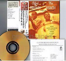CLIFFORD BROWN MAX ROACH s/t+2 JAPAN Mini-LP CD 24k GOLD UCCU-9531 w/OBI+BOOKLET
