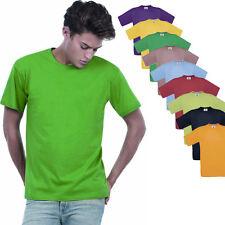 B&C Herren Kurzarm T-Shirt verschiedene Farben und Größen S - 3XL