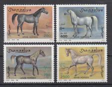 Somalia (Soomaaliya) - Michel-Nr. 588-591 postfrisch/** (Pferde / Horses)