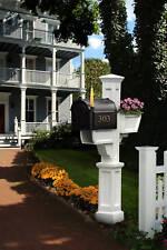 Mayne Mailbox Post - White - Signature