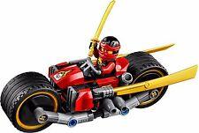 LEGO NINJAGO KAI NINJA BIKE SKYBOUND MINIFIGURE w/ Sword AUTHENTIC NEW 70600