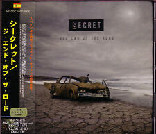 SECRET The End Of The Road + 1 JAPAN CD 91 Suite Aerosmith Bon Jovi Melodic Hard