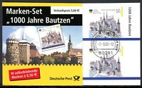 Bund Markenheftchen MiNr. MH 48 a VsEt Frankfurt (Q10552