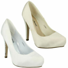 Bridal or Wedding Court Textile Heels for Women