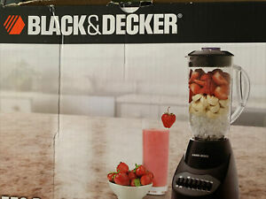 Black & Decker BL2012BP-FSP 10-Speeds Blender with 4 stainless steel tip blades