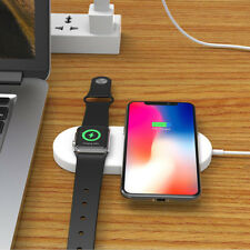 Wireless Fast Charging Dock Stand Charger for iWatch 2/3 Iphone X 8 Apple Watch