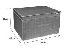 Box Scatola Salvaspazio Portatutto Contenitore Organizer 50x40x30cm 69695-2 dfh