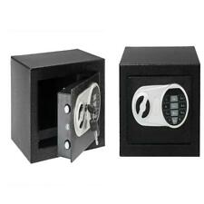 High Grade Digital Safe Box Lock Passport Fireproof Security Cash Gun Home Black