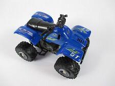 Quad Modell mit Federung 8 cm in blau,Modellauto diecast,Neu