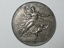 1878 Exposition Universelle Paris France - Silver Award Medal Chaplain C Fromme