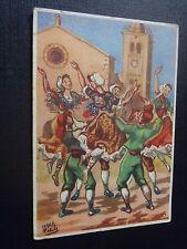 CPSM Danses Catalanes du Roussillon Ball de Corre ou Corranda sur la place .....
