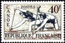 "FRANCE STAMP TIMBRE N° 963 "" JEUX OLYMPIQUES 1952  HELSINKI CANOË "" NEUF xx TTB"