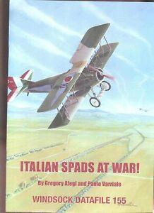 WINDSOCK DATAFILE 155 - ITALIAN SPADS AT WAR!
