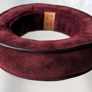 HERMES Burgundy Suede Bracelet DOBLIS BEBI Unisex Medium/Large Sold Out NEW !