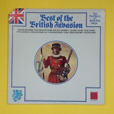 BEST OF THE BRITISH INVASION History Of British Pop PYE506 LP Vinyl VG++ Cvr VG+