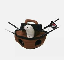 New Ferret Small Animal Pet Pirate Ship Cage Accessory Hammock Nest Bed