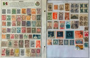 Lot of Mexico Old Stamps Used/MH/MNH