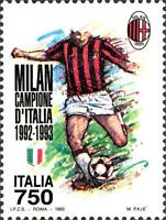 # ITALIA ITALY - 1993 - Milan Winner - Calcio Football Soccer Sport Stamp MNH