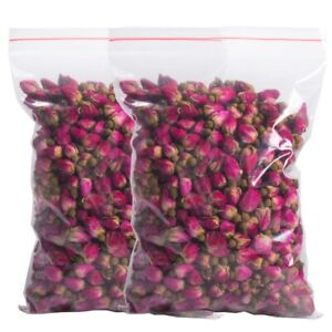 200g FRAGRANT NATURAL DRIED REDROSE BUDS ORGANIC 7 oz