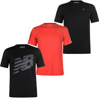 New Balance Herren T-Shirt Training Laufshirt Sport Dry Fitness Shirt S-XL NEU
