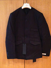 Authentic AQUASCUTUM London Men Savile Row tailored black blazer 38R New