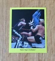 New Age Outlaws WWF WWE 1998 Cardinal Wrestling Card