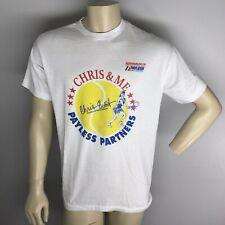 CHRIS EVERT TENNIS CLASSIC 1990 Payless Car Rental Partners Tee Shirt  VINTAGE