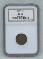 1877 Indian Head Cent NGC G6 BN - #11224