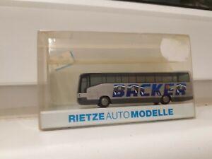 "Rietze Modelle Bus 16007 Spur N "" BACKER """