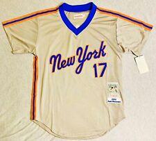1986 Keith Hernandez New York Mets Gray Jersey Size Men's Large