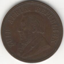 More details for 1894 south africa penny | world coins | pennies2pounds